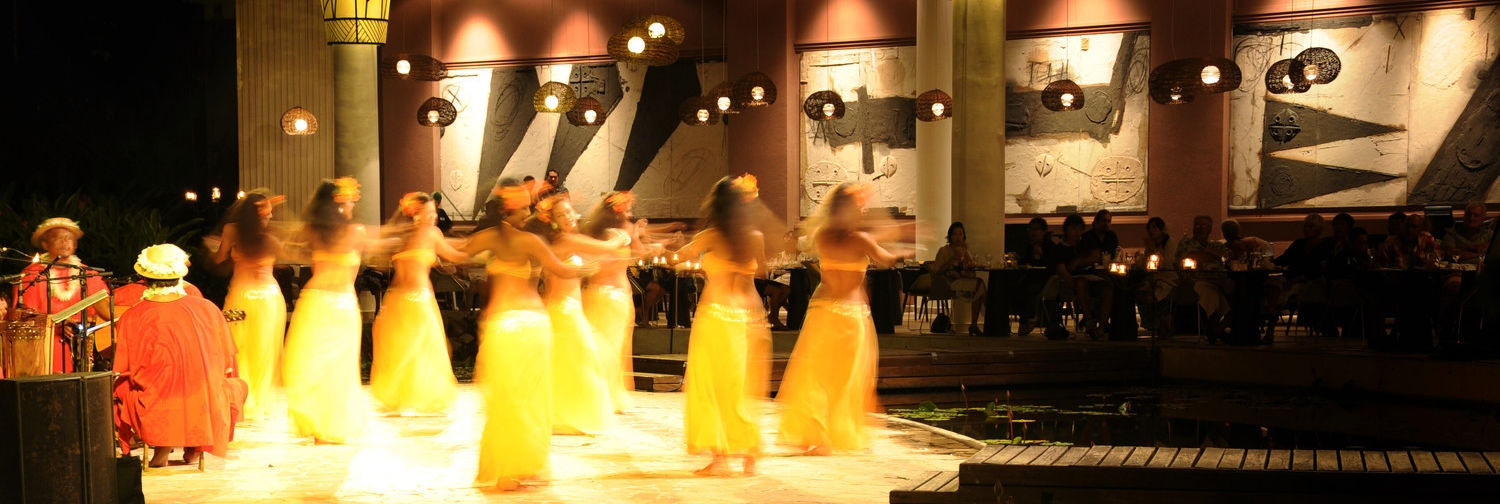 hotel tahiti le meridien tahiti activities evening shows